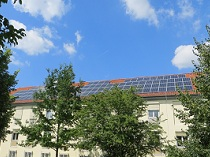 Photovoltaikanlage 41,8 kWp Universität Göttingen